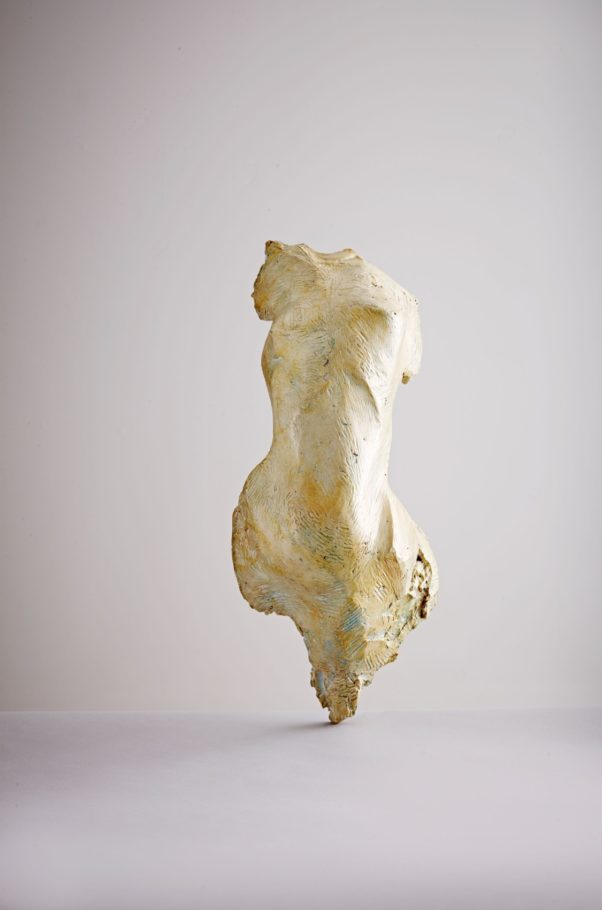 TORSO . 57X25X23CM TREATED RESIN . EDITION 2 . £2,500